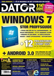 Datormagazin nr 5/2011