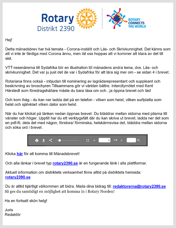 Rotary - mejl
