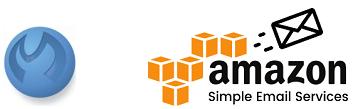Logotyper - MultiMailer och Amazon SES