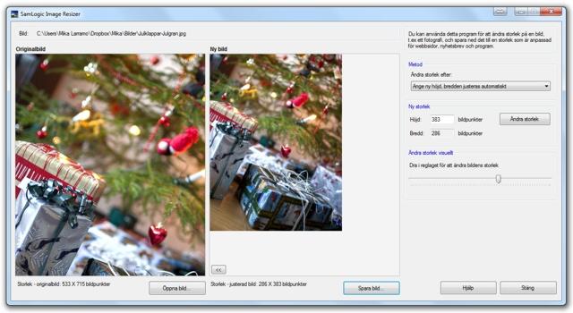 SamLogic Image Resizer