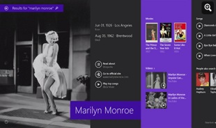 Windows 8.1 - Marilyn Monroe