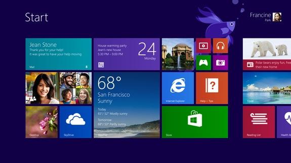 Windows 8.1 släpps 18 oktober