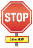 Stop for spam